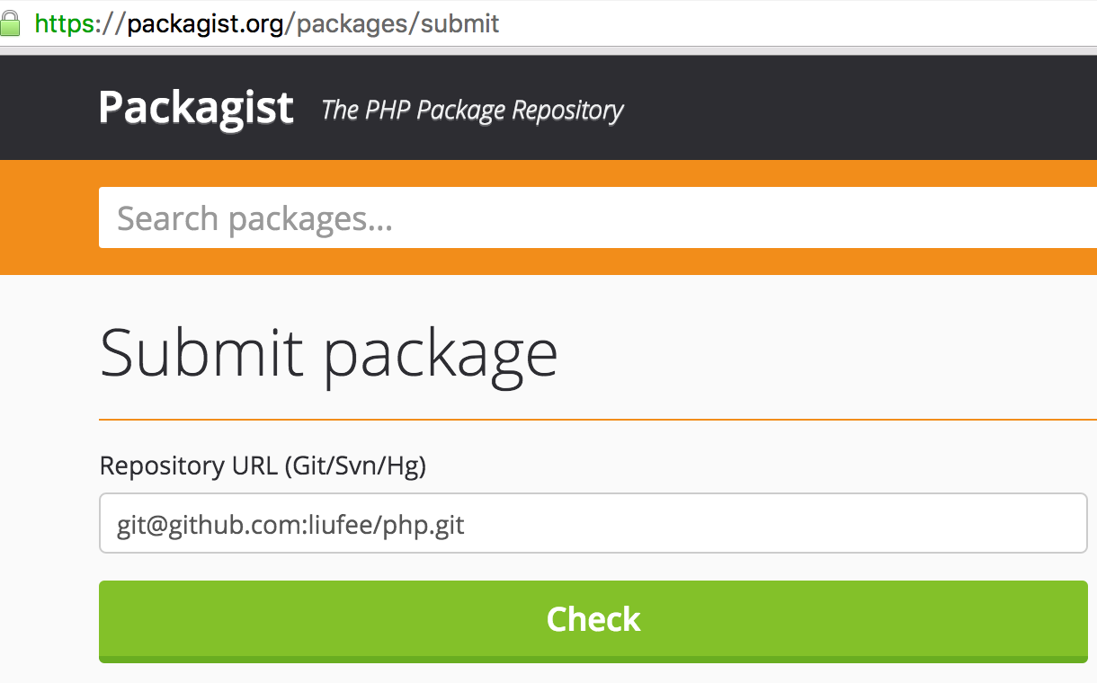 submit package